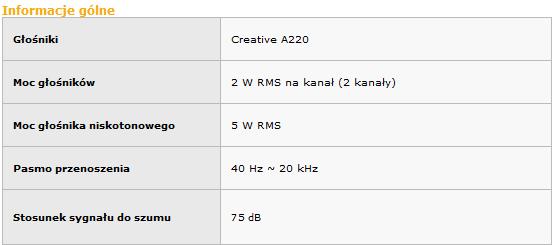 Creative 2.1 A220