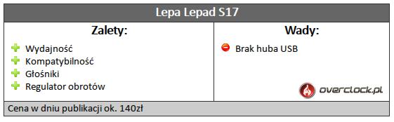 Lepad S17