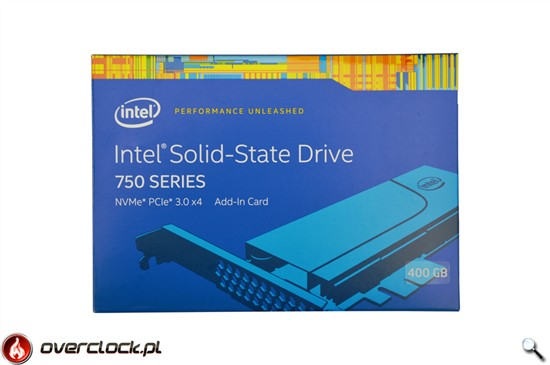 Test Intel SSD 750 PCIe 400 GB